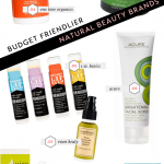 Budget Friendlier Natural Beauty Brands