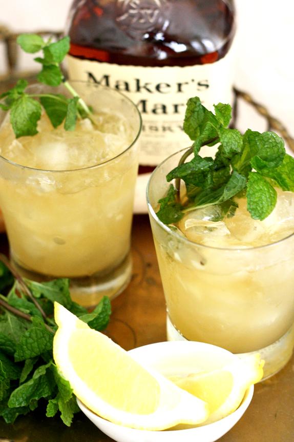 recipe whiskey smash