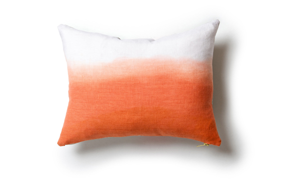 rebecca atwood - dip dyed wave pillow