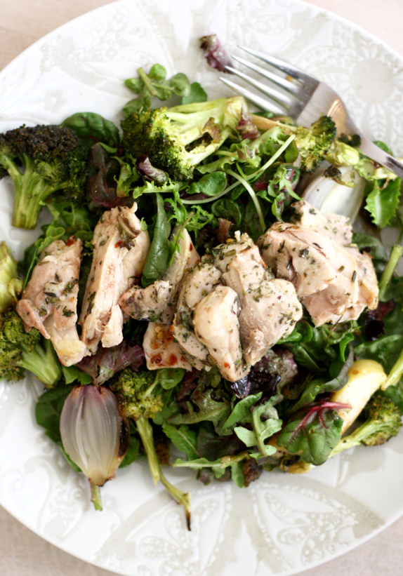 the roasted everything salad