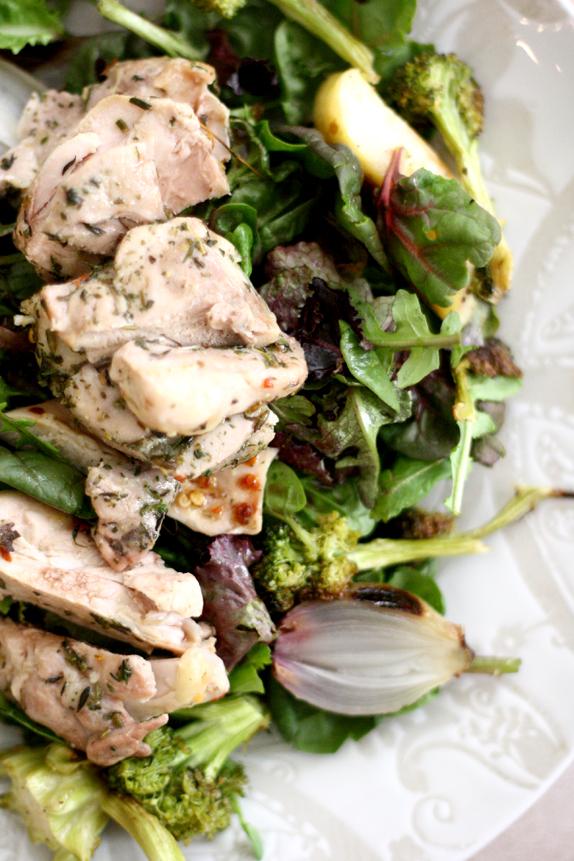 roasted everything salad