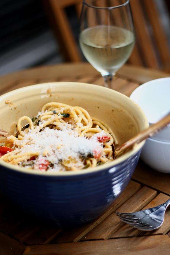 chicken pasta primavera - good recipe for potluck