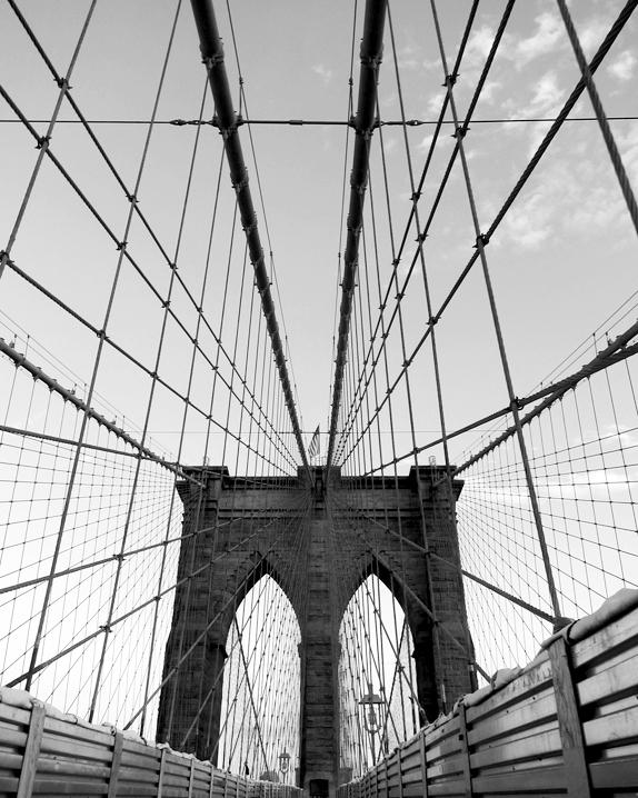 brooklyn bridge by schizoform