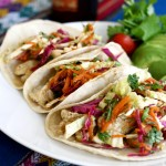 Recipe: Fish Tacos with Cilantro Lime Slaw