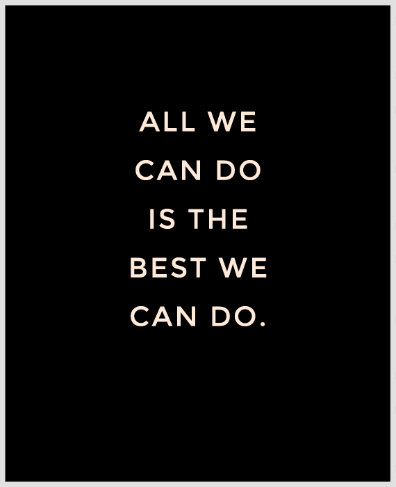 all-we-can-do-is-the-best-we-can-do-quote 2