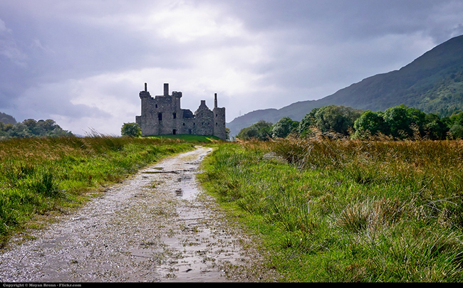 castle in the highlands