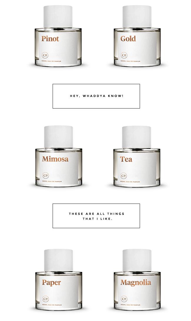 commodity goods perfume