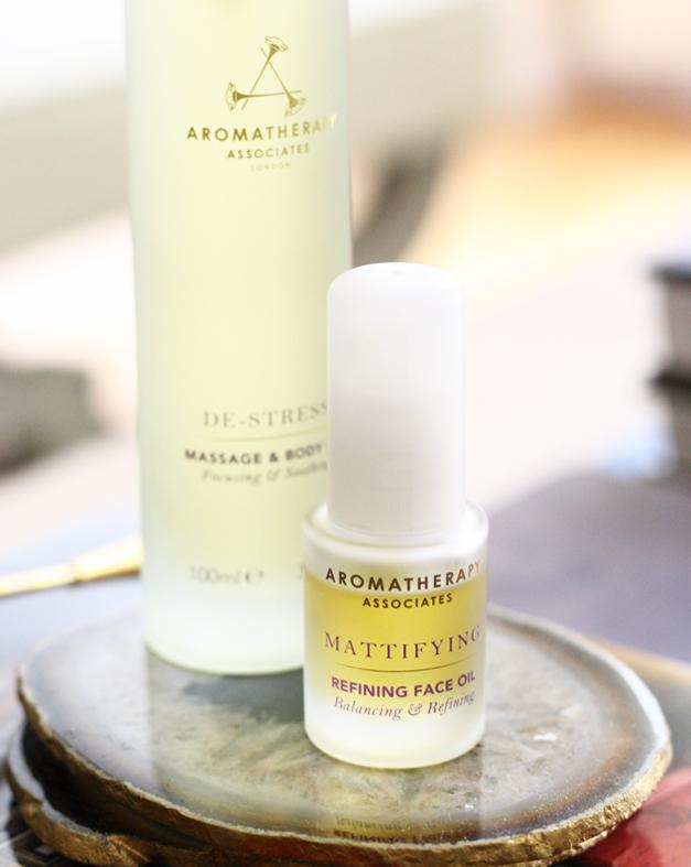 aromatherapy associates refining face oil