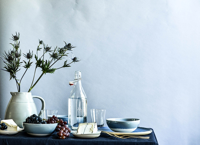 ROSE & IVY ISSUE NO 1 AUTUMN - MOODY BLUES A FALL TABLESETTING