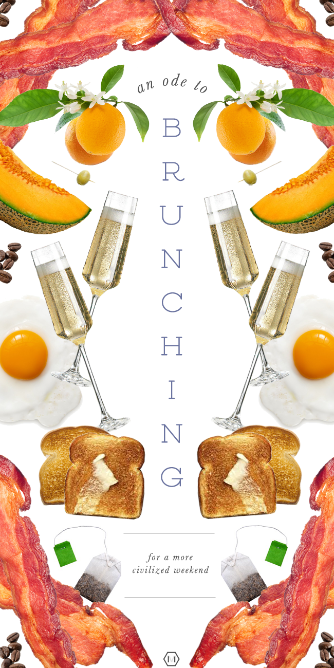 an ode to brunching