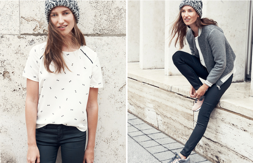 sezane and madewell collaboration
