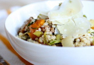 recipe - couscous salad that uses leftover thanksgiving ingredients