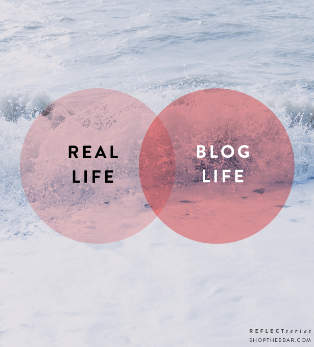 real life vs blog life in the age of social media