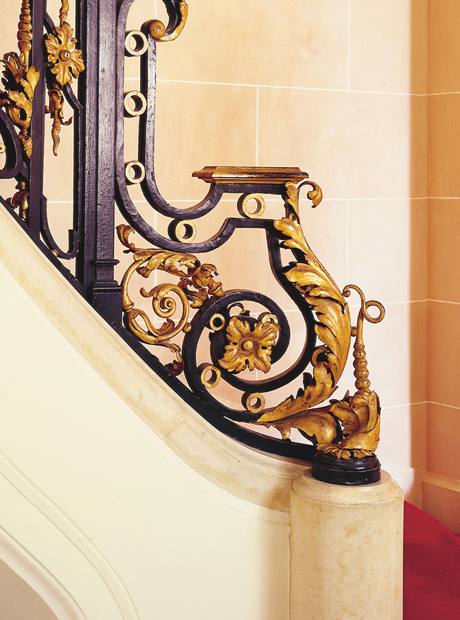 staircase detail - carolands