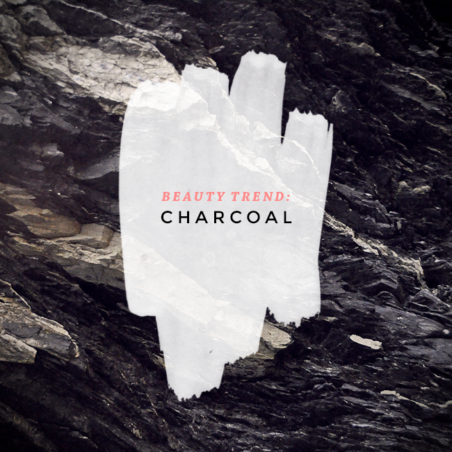 charcoal beauty trend