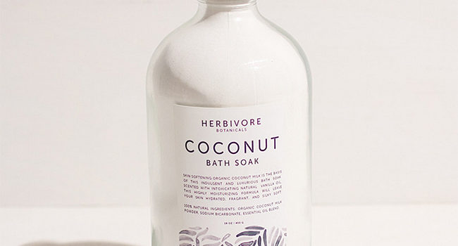 herbivore coconut bath soak