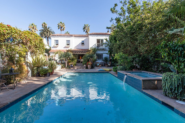spanish garden house - santa monica - one fine stay