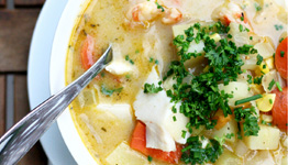 recipe - the best seafood chowder