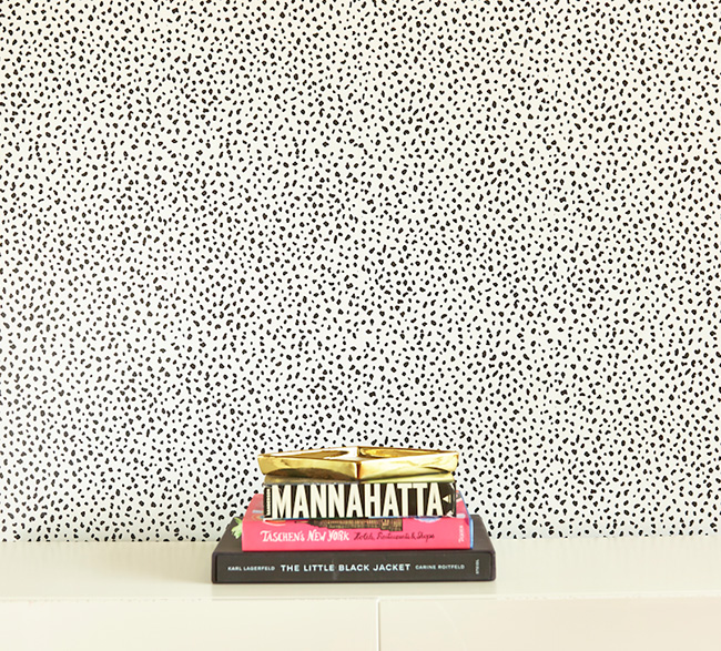 chasing paper - removable wallpaper - speckle pattern