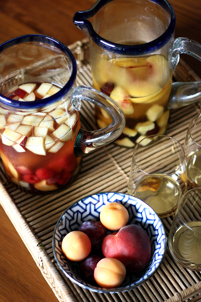 recipe - summer sangria, two ways