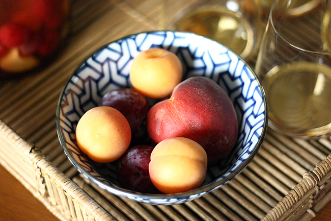summer stone fruit