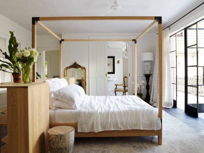 vogue au - justin hemmes stylish master bedroom retreat