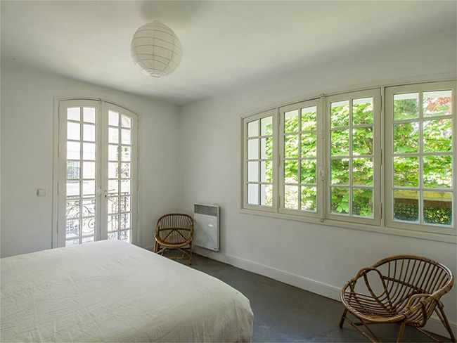 Home in Auteuil, Paris - Peaceful Guest Bedroom