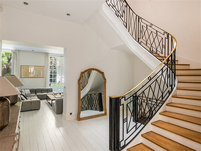 Home in Auteuil, Paris - Staircase