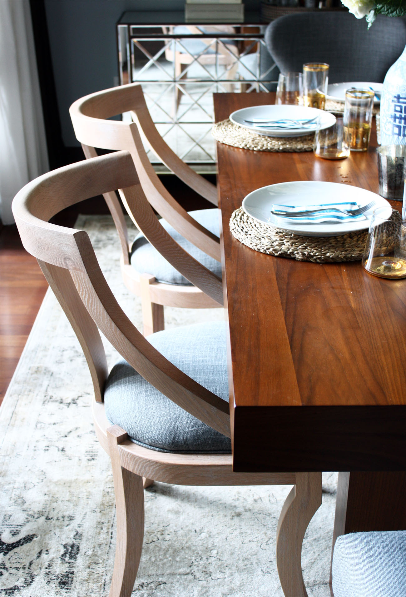 josephine dining chairs from serena and lily