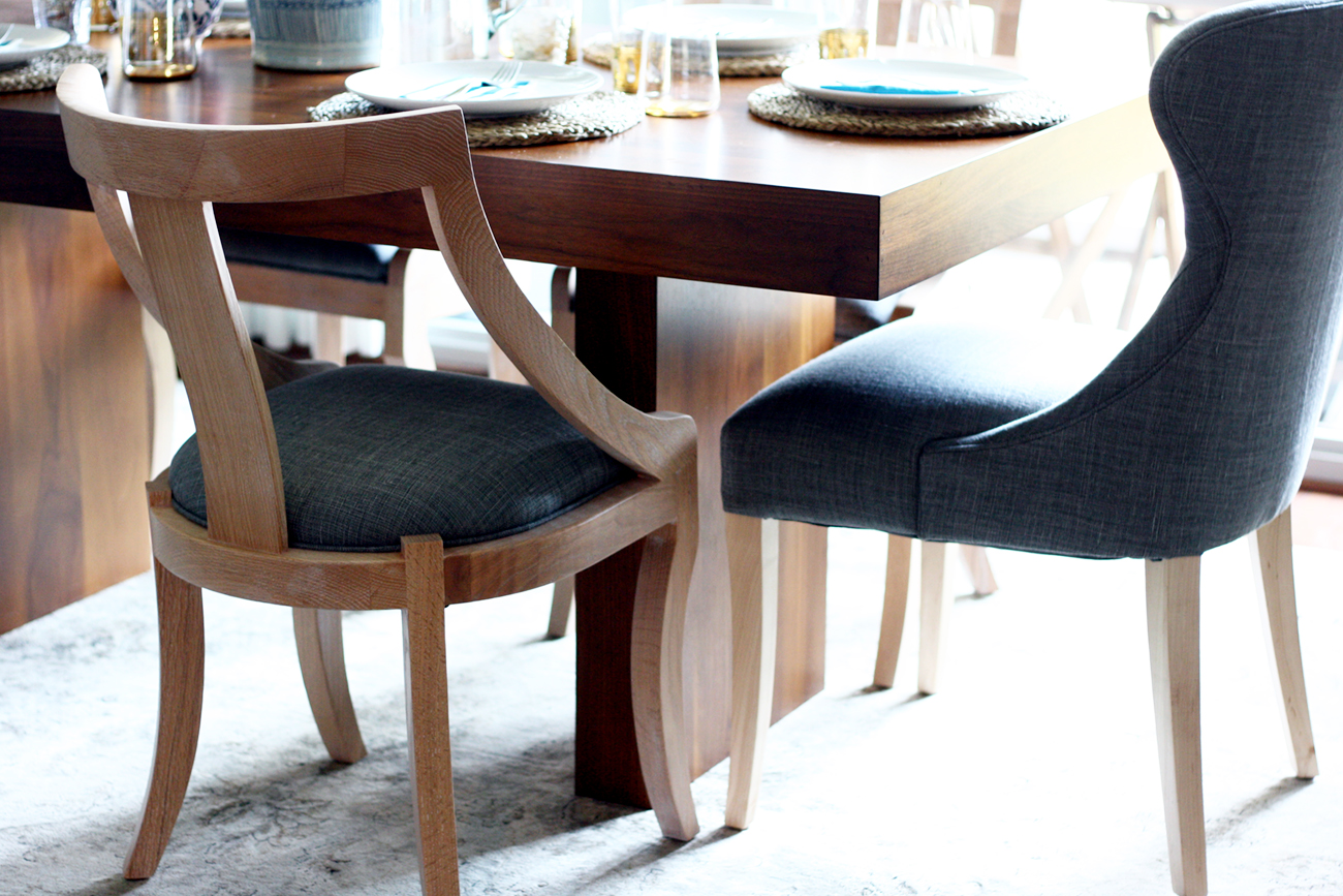 mix and match dining chairs from serena and lily