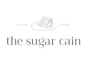 the sugar cain logo black and white