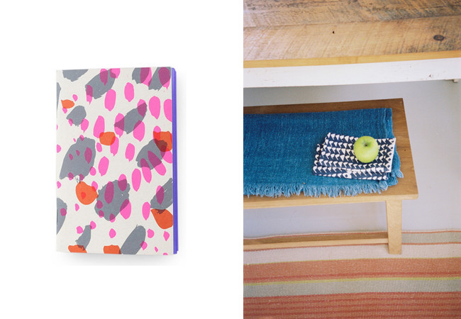 notebooks and tea towels from jenny pennywood