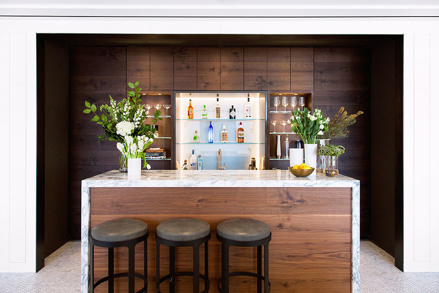 bon appetit test kitchen - photo by danlly domingo, architectural digest jan 2015