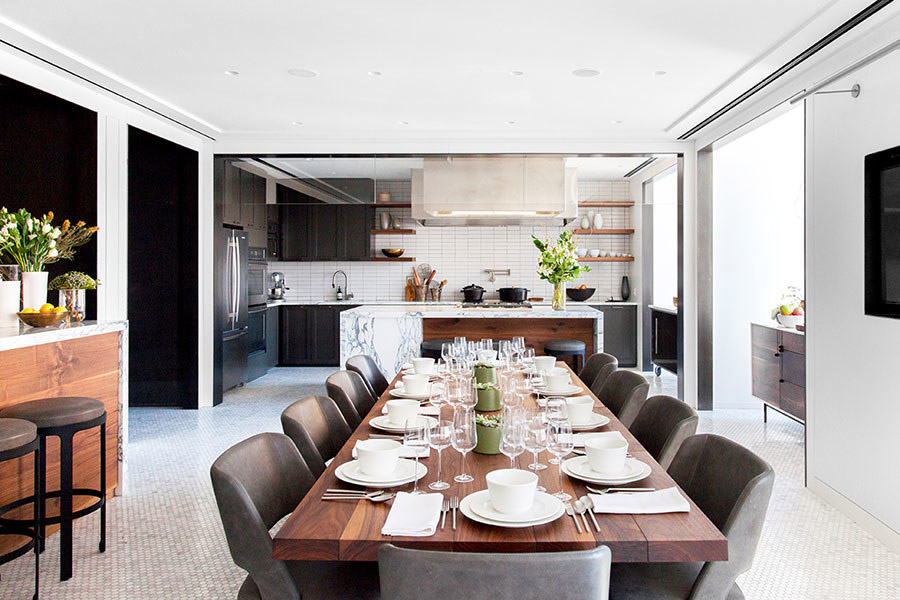 bon appetit test kitchen - photo by danlly domingo, architectural digest