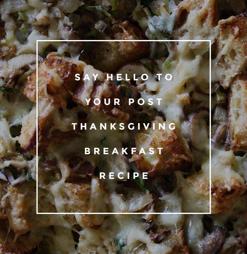 day after thanksgiving breakfast recipe