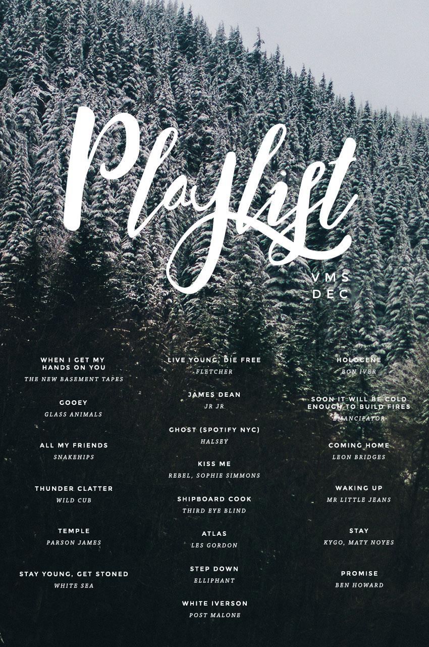 December Playlist (Victoria McGinley Studio)