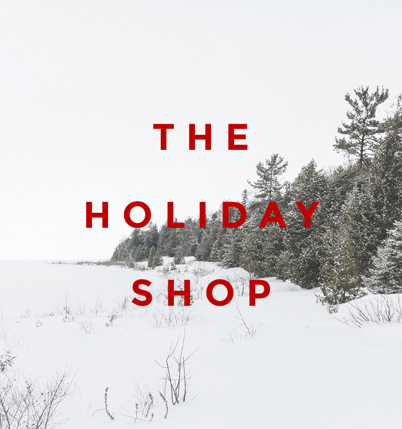the holiday shop - victoria mcginley 2015 - unique gift ideas for everyone on your list