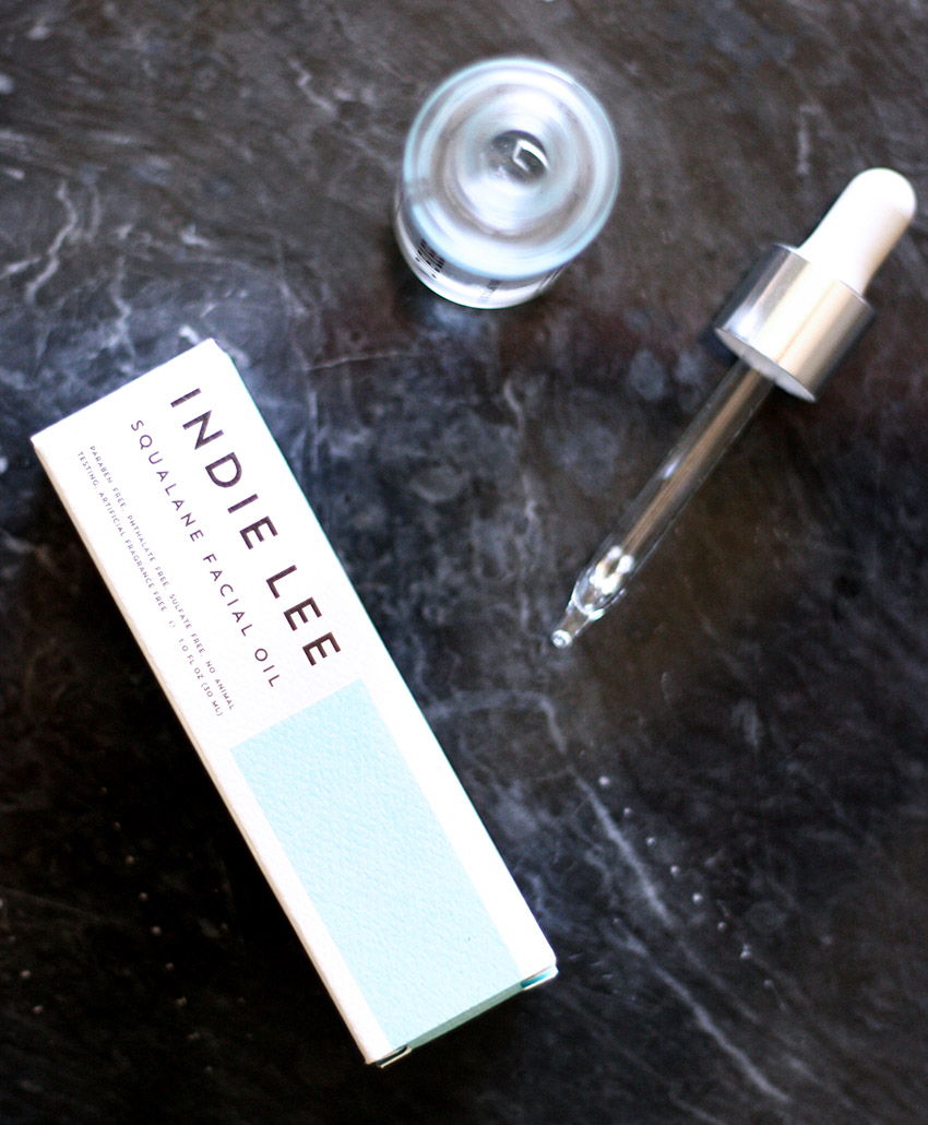 indie lee review squalane facial oil