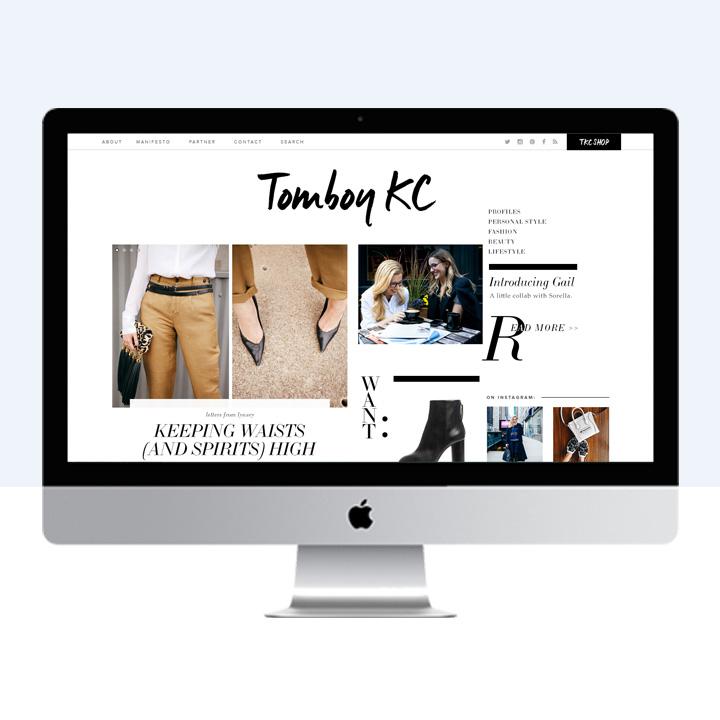 Tomboy KC | design by Victoria McGinley Studio