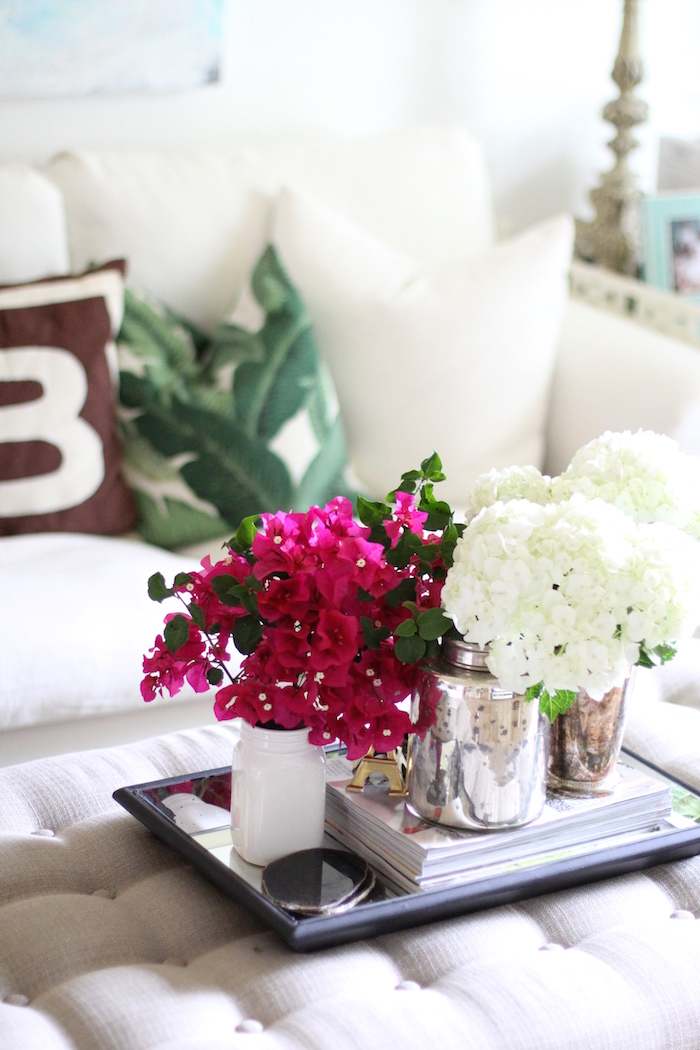 bougainvillea arrangement | image via Carrie Bradshaw Lied