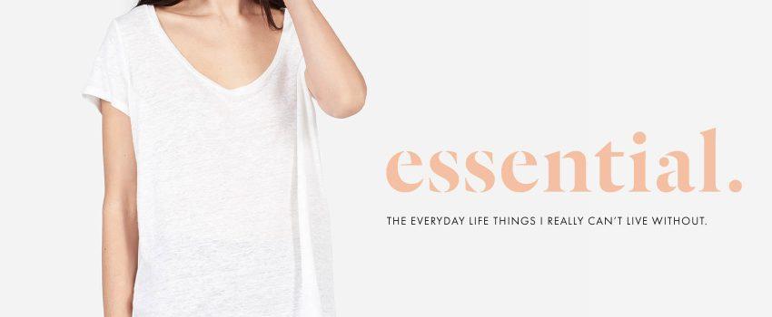 everlane linen tees - an essential!