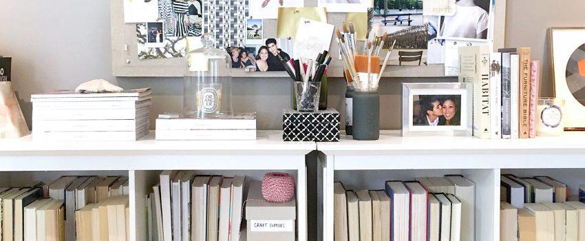 office storage + inspiration | victoria mcginley studio