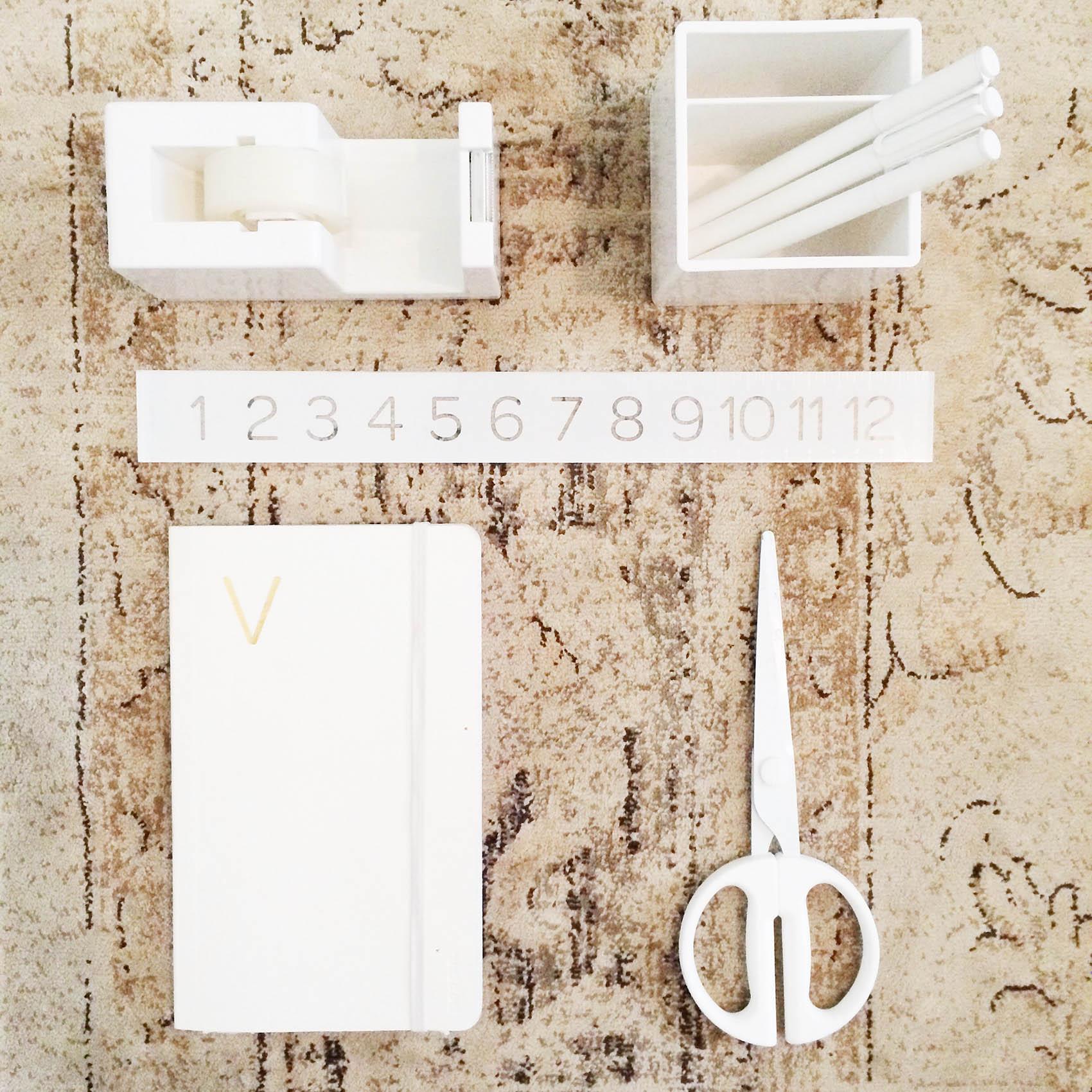 poppin office essentials   via @victoriamstudio