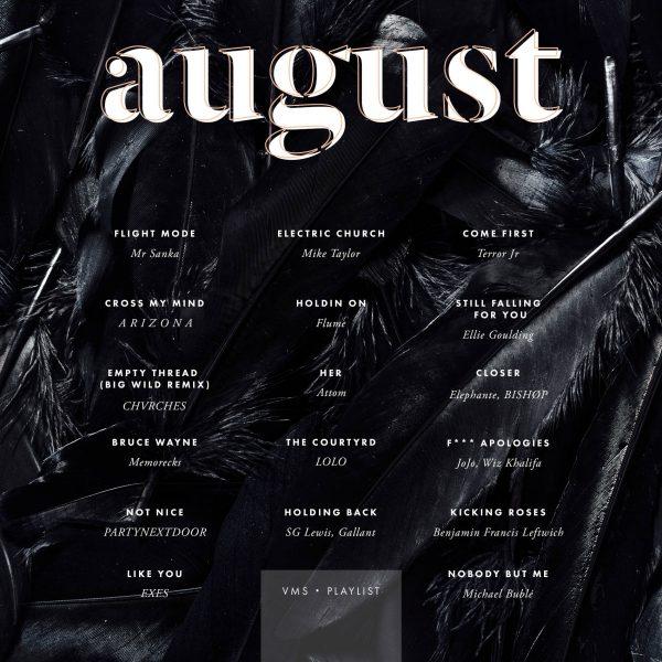 August Playlist