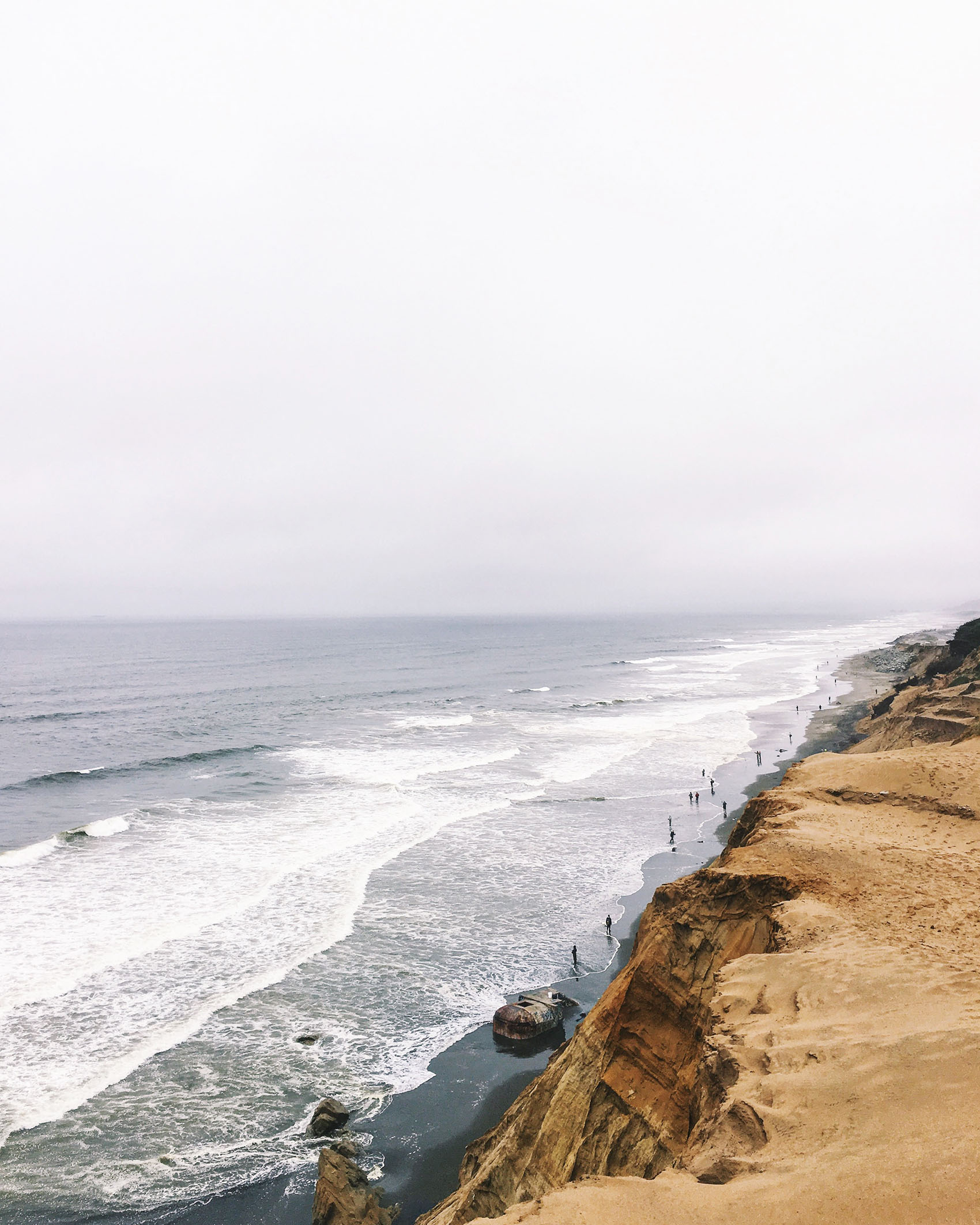 view at fort funston | san francisco, ca | Image by @victoriamstudio