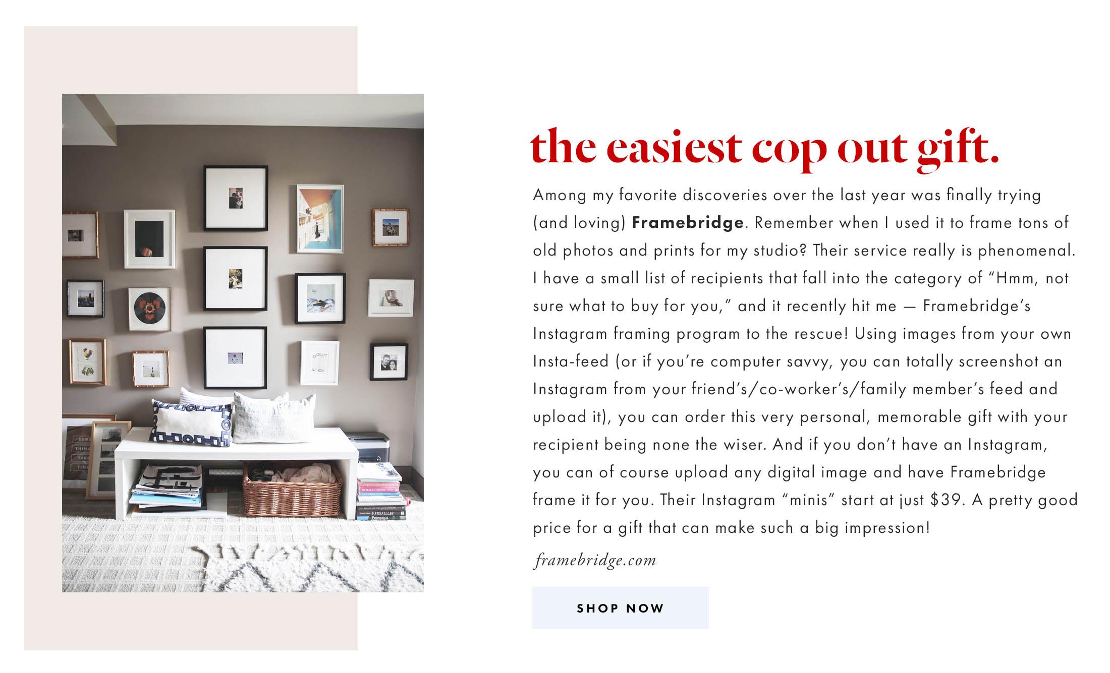 instagram-framing-from-framebridge-gift-idea