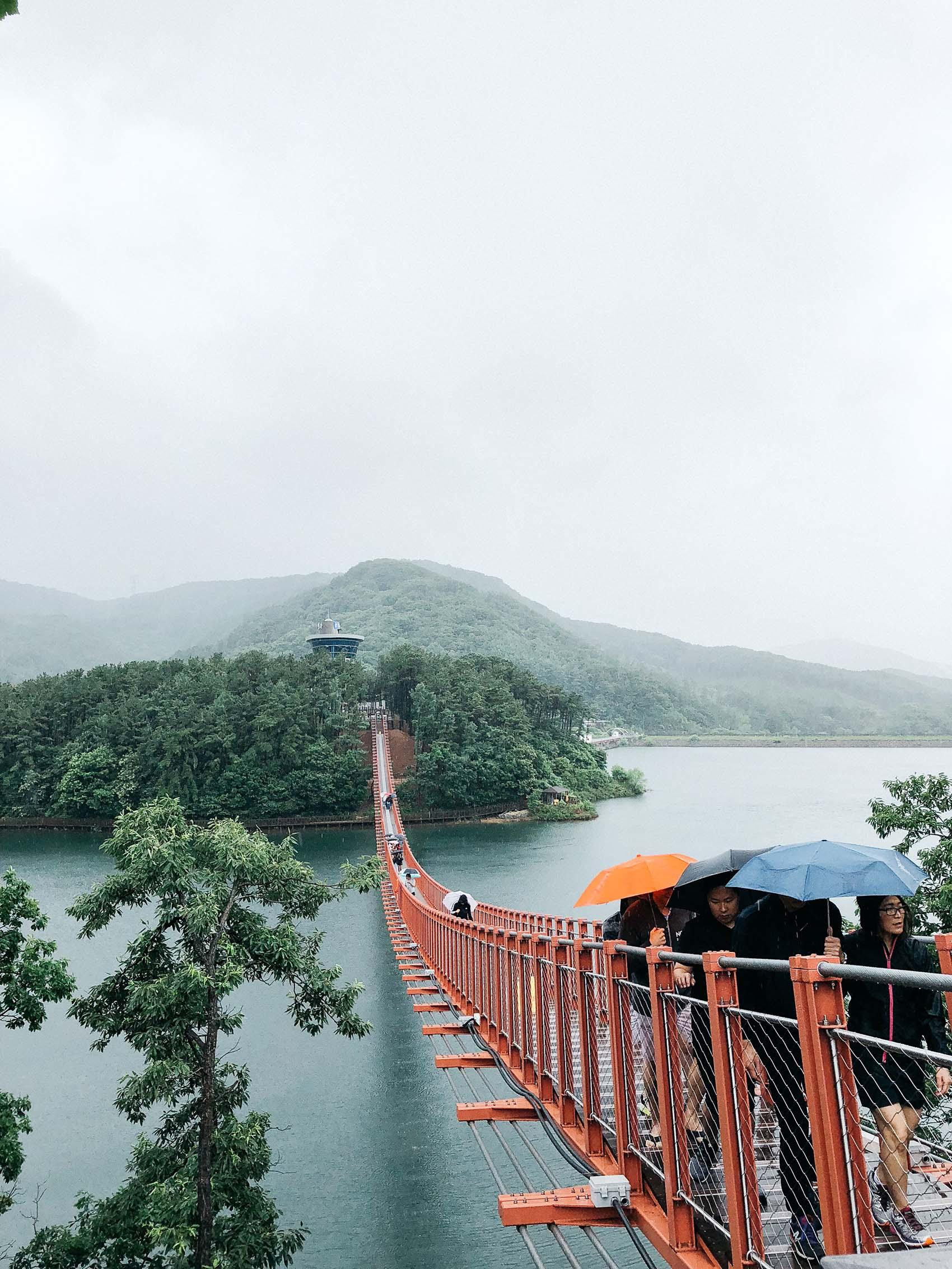 majang reservoir lake paju korea