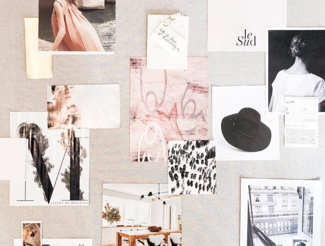 How to build your perfect inspiration board